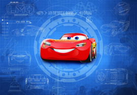 Disney 8-488 Cars 3 Blueprint Fotobehang  - Noordwand