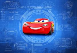 Disney 8-488 Cars 3 Blueprint Fotobehang  - Noordwand