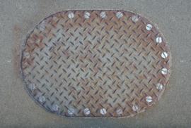 AS Creation AP Digital4 Behang DD108601 Iron Plate 1/Metaal/IJzer/Industrieel Fotobehang