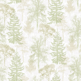 Noordwand Evergreen Behang 7310 Bomen/Natuurlijk/Landelijk/Botanisch