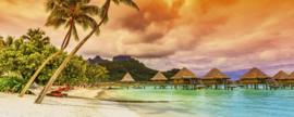 Dimex Fotobehang Polynesia MP-2-0211 Panorama/Tropisch/Natuur/Landschap/Palm