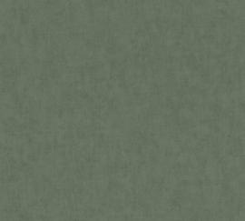AS Creation Geo Nordic Behang 37536-4 Uni/Structuur/Modern/Natuurlijk/Groen