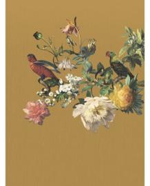 Eijffinger Museum Fotobehang 307403 Big Birds Ocre/Klassiek/Botanisch/Vogels
