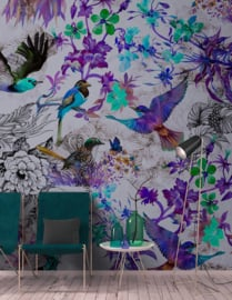 Walls by Patel DD110181 Funky Birds 2 Fotobehang - ASCreation