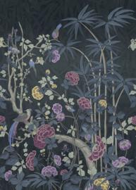 Hookedonwalls Daimon Wandpaneel Behang DAD23280 Garden of Daimon/Botanisch/Vogels/Natuurlijk