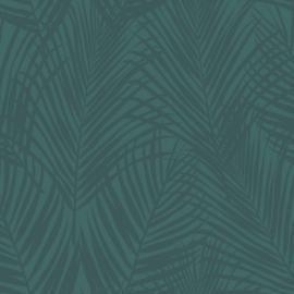 Origin City Chic Behang 353-347710 Palmbladeren/Bladeren/Natuurlijk/Donker Groen