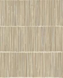 Help mijn man is klusser Aflevering 24 mei Behang Eijffinger Terra 391513 Bamboe Look/Natuurlijk
