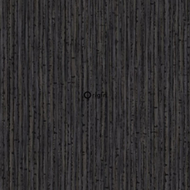 Origin Identity Behang 345-347406 Natuurlijk/Bamboo Look/Donker bruin
