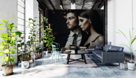 ASCreation Walls by Patel Fotobehang Black Tie 1 DD113257 Personen/Klassiek/Modern