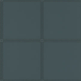Rasch Club Behang 419054 Leer effect/Blokken/Vlakken/Stiksels/Modern/Natuurlijk