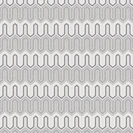 Rasch Galerie Geometrix Behang GX37609 Geometrisch/Modern/Landelijk/Grijs