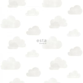 Esta Home Little Bandits Behang 138945 Wolken/Lucht/Peuter/Kleuterkamer