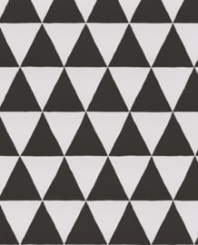 Eijffinger Black & Light  356011 Geometrisch/Grafisch/Scandinavisch/Driehoeken Behang