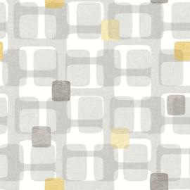 Arthouse Retro House Behang 901901 Block Grey/Modern/Grafisch/Jaren 60/70