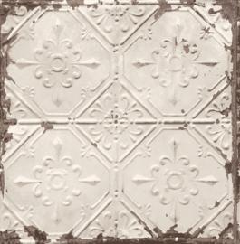Dutch Wallcoverings Trilogy Behang FD22332 Tegel/Ornament/Verweerd/Vintage