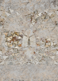 Behangexpresse Special Edition AK1055 Mosaics Venice/Steen/Mozaiek/Vintage Fotobehang