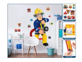 Walltastic Fireman Sam 44333 Sticker Set - Dutch Wallcoverings