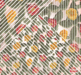 Komar/Noordwand Heritage Edition1 Fotobehang HX6-042 Cactus/Bloemen/Planten/Grafisch Behang