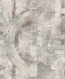Rasch Composition Behang 554779 Modern/Grafisch/Beton