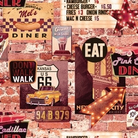 Arthouse Options2 Behang 889600 Nostalgisch/Vintage