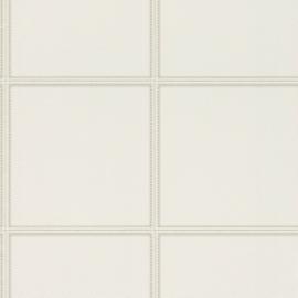 Rasch Club Behang 576467 Modern/Leer effect/Blokken/Stiksels