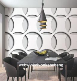 Marburg Smart Art Aspiration Fotobehang 46785 Tabea/Modern/Cirkels/3D/Grijs