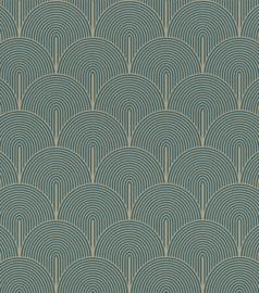 Rasch Salisbury Behang 552447 Bogen/Art deco/Modern