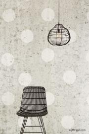 Eijffinger Black & Light  356214 Industrieel/Stoer/Vintage/Dots Fotobehang
