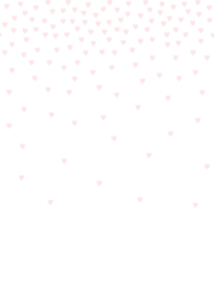 Origin Precious Behang Fotobehang 352-357222 Confetti hearts pink/Hartjes confetti/Kinderkamer/Roze