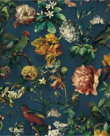 Eijffinger Museum Behang 307306 Botanisch/Bloemen/Bladeren/Vogels
