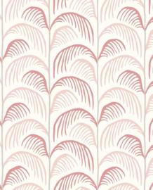 Eijffinger Mini Me Behang 399075 Botanisch/Retro/Bladeren/Roze/Kinderkamer