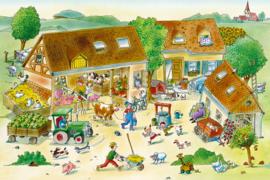 AS Creation Wallpaper 3 XXL Fotobehang 471674XL Farm/Boerderij/Dieren/Kinderkamer