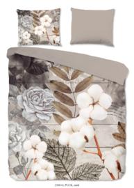 Muller Textiles Dekbedovertrek 2360 Puck Sand/Botanisch/Bloemen