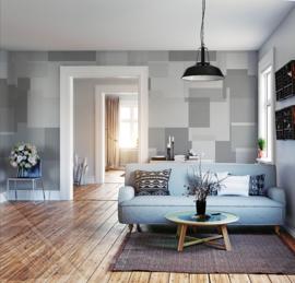 Timesless INK7180 Panel Grey Fotobehang - Behangexpresse