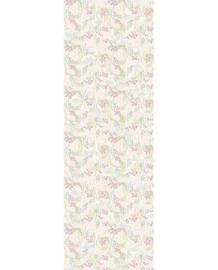 Eijffinger Mini Me Behang 399118 Vintage Swans/Romantisch/Zwaan/Bloemen/Kinderkamer Fotobehang