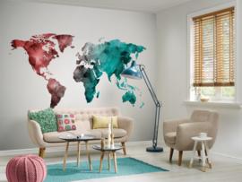 AS Creation Designwalls Fotobehang DD118708 World Graphic 2/Wereldkaart/Modern/Travelling