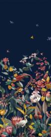 BN Studios/BN Wallcoverings Murals Fotobehang 219190DX Kotori/Botanisch/Vogels/Bloemen