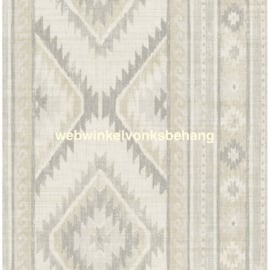 Dutch Wallcoverings Global Style Behang  UE80008 Navajo/Strepen