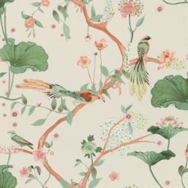 Onszelf Amazing Behang 539431 Botanisch/Bloemen/Vogels/Modern/Natuurlijk