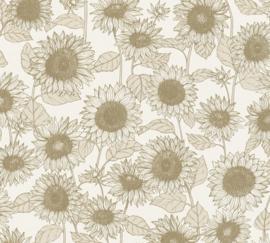 AS Creation New Life Behang 37685-1 Zonnebloemen/Bloemen/Natuurlijk/Landelijk/Modern