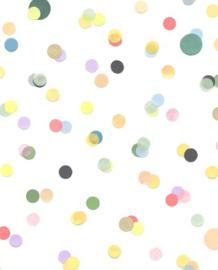 Eijffinger Mini Me Behang 399000 Dots/Stippen/Kinderkamer/Multi colour