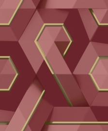 Dutch Wallcoverings Onyx Behang M35410 Modern/Grafisch/Abstract