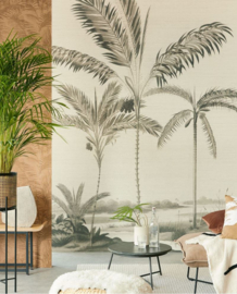 Eijffinger Oasis Fotobehang 317407 Palm Portrait/Plambomen/Tropisch