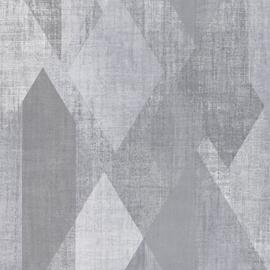 Rasch Galerie Geometrix Behang GX37637 Geometrisch/Modern/Ruiten