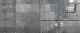 AS Creation AP Digital4 Behang DD108541 Heli/Metaal/Nagels/Industrieel/Modern Fotobehang