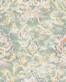 Eijffinger Sundari  Behang 375110 Barok/Etnisch/Verweerde Look/Groen/Beige