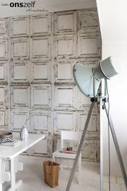 Onszelf Loft Fotobehang. OZ3706  Loft/Klassiek/Landelijk/Panelen/Vintage Behang.