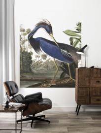 Dutch Wallcoverings Kek PA-011 Louisiana Heron/Vogel/Reiger/Kek Amsterdam/Flora & Fauna Fotobehang