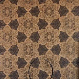 Eijffinger Siroc Behang 376050 Bloemen/Etnisch/Bruintinten