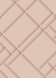 Esta Home Art Deco Fotobehang 158961 Grafisch/3D/Diagonaal/Modern Behang